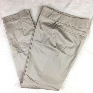 NWOT AK Anne Klein Cotton Stretch Slacks Pants 8